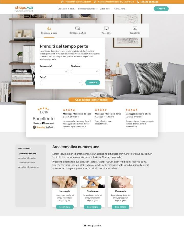 Shapeme Desktop website 4