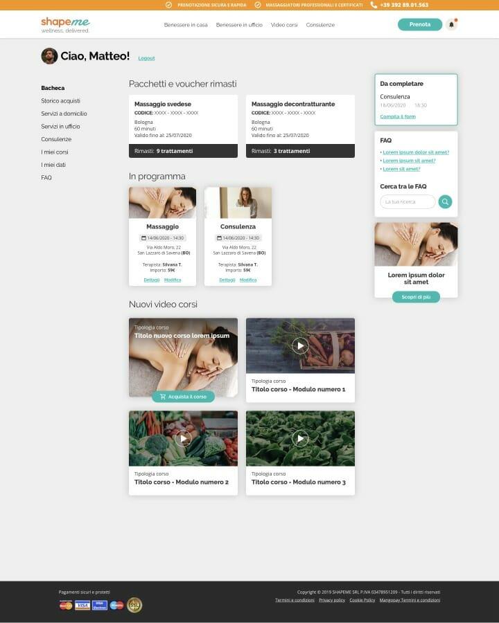 Shapeme Desktop website 1