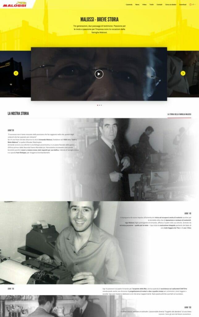 Malossi Sito Web Desktop 3